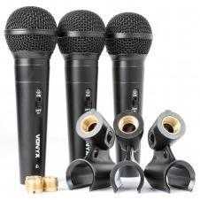 VX1800S Microfono dinamico set 3pcs