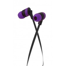 Klip Xtreme - KHS-625PR - Earphones - For Home audio / For Portable electronics / For Tablet - Wired - 3.5mm - Purple