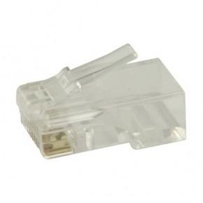 10 Conectores RJ45 para cables UTP CAT6