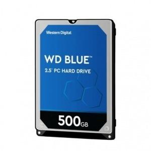 "Disco Duro Western Digital WD Blue PC Mobile 500GB/ 2.5""/ SATA III/ 128MB"