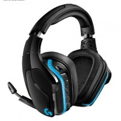 Logitech Gaming Headset G935 - Headset - 7.1 channel - full size - 2.4 GHz - wireless - 3.5 mm jack - black, blue