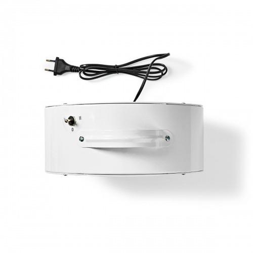 Ventilador de mesa   Alimentado por la red   Diámetro: 25 cm   20 W   2 Velocidades   Blanco