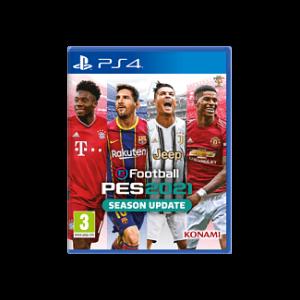 JUEGO PS4 EFOOTBALL PES 2021 SEASON UPDATE