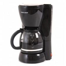 Cafetera de 10 tazas de capacidad color negro MARCA BLACK + DECKER