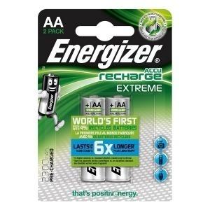 Pilas Recargables Energizer HR6 BL2 2300mAh (2 pcs)