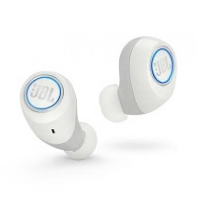 JBL Free - True wireless earphones with mic - in-ear - Bluetooth - white
