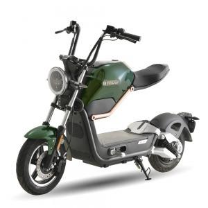 SUNRA Miku Max Matriculable Edición Premium 49e Motor BOSCH / 20Ah Verde Metalizado