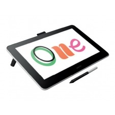 Wacom One DTC133 - Digitizer w/ LCD display - right and left-handed - 29.4 x 16.6 cm - wired - USB, HDMI