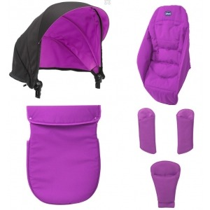 Pack para cochecito Chicco Duo Urban Cyclamen