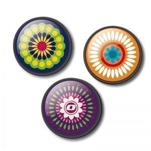 Chapas decorativas mandala para mochila Roller