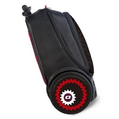 Pegatinas mechanic para ruedas de mochila Roller