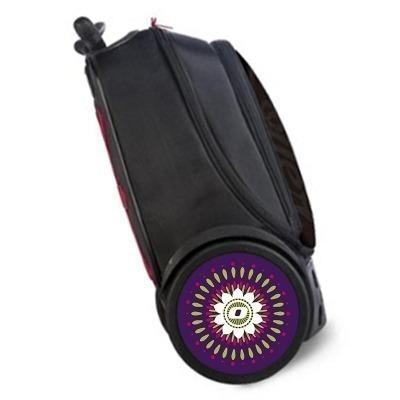 Pegatinas Mandala para ruedas de mochila Roller