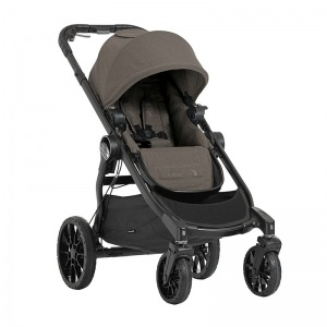 Cochecito Baby Jogger City Select Lux Topo Marrón