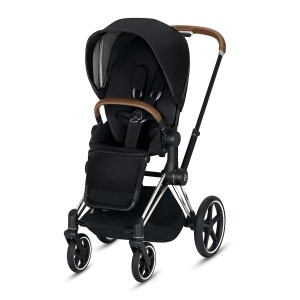 Cochecito Duo Cybex Priam Capazo Lite 2019 Chrome Brown