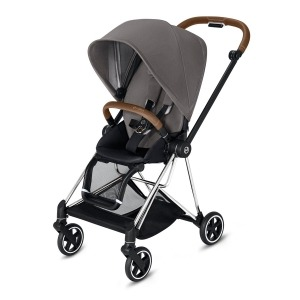 Cochecito Duo Cybex Mios Capazo Lite 2019 Chrome Brown