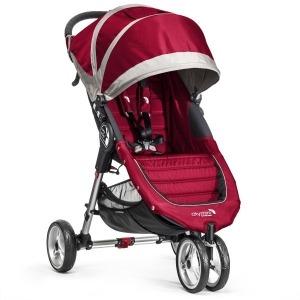 Silla de paseo Baby Jogger City Mini 3 Roja Gris