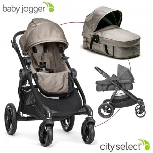 Cochecito Baby Jogger City Select Arena + Manoplas