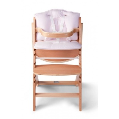 Cojín para trona Lambda de Childhome rosa
