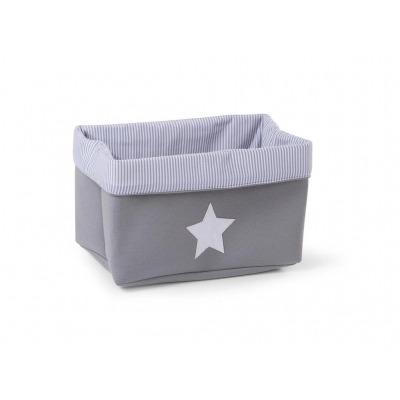 Caja Canvas plegable 32x20x20 de Childhome