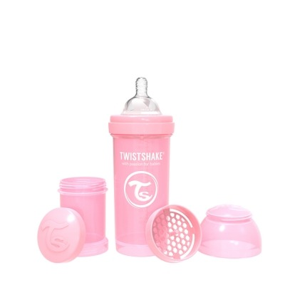 Biberón Twistshake Anticólico 330 ml.