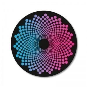 Pegatinas Wheel Stickers Dots para Ruedas de Mochila Roller