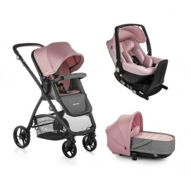 foto Cochecito Trio Be Cool Slide Crib One + Base One 2020 Be Solid - Be (varias opciones)