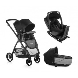 foto Cochecito Trio Be Cool Slide Crib One + Base One 2020 Be Solid - Be