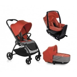 foto Cochecito Trio Be Cool Outback Crib One + Base One 2020 Be Solid - Be (varias opciones)