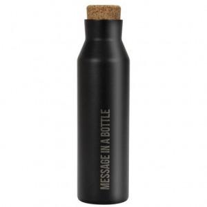 Botella de Duett Térmica 500 ml Inoxidable Negra