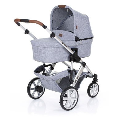 Coche Duo Abc Design Salsa 4 Graphite Grey