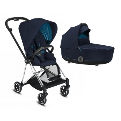 Cochecito Duo Cybex Mios 2020 Chrome Black