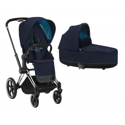 Cochecito Duo Cybex Priam 2020 Chrome Black