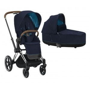 Cochecito Duo Cybex Priam 2020 Chrome Brown