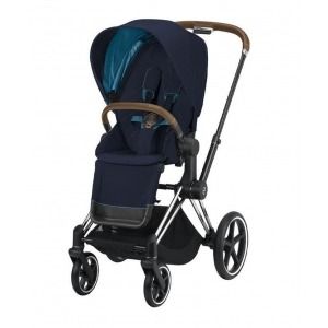 Silla de paseo Cybex Priam 2020 Chrome Brown