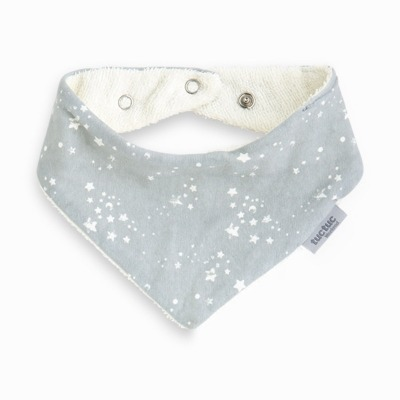 Babero Bandanas Tuc Tuc Weekend Constellation Gris