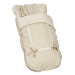 Saco Silla con Cubre Arnés Leather Beige