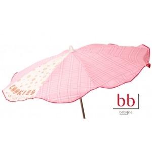 Sombrilla bebé cookie rosa