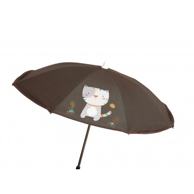 Sombrilla silla Kitty Choco