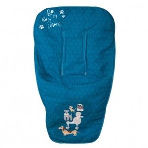 Funda de silla Dogs Azul