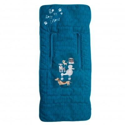 Colchoneta ligera Dogs Azul