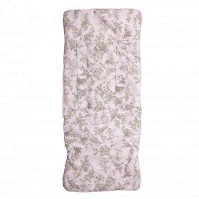 Colchoneta ligera reversible Paseos de Toile Rosa