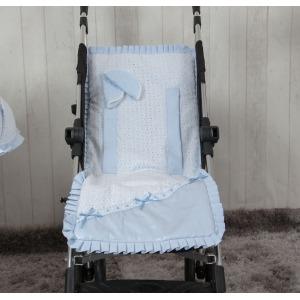 Colchoneta ligera Love Azul
