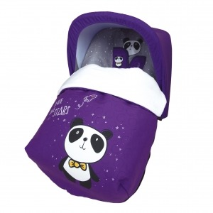 Saco Porta bebé Panda (capota no incluida)