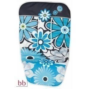 Funda silla paseo Flores turquesa