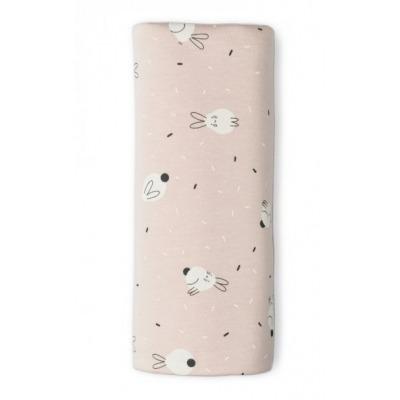 Muselina Sonpetit Bambú Rabbit Blanco Rosa