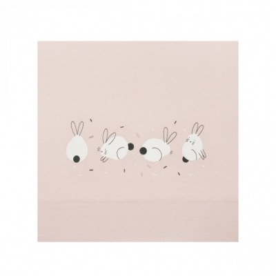 Sabana Cuna Sonpetit Rabbit Rosa