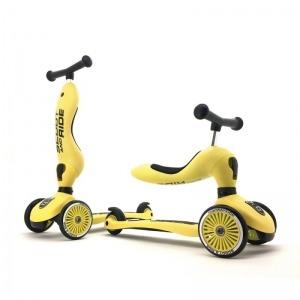 Patinete 2 en 1 Scoot And Ride Highwaykick One Lemon