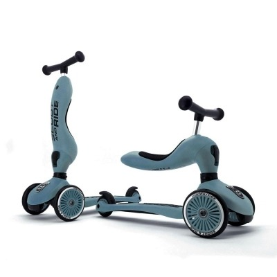 Patinete 2 en 1 Scoot And Ride Highwaykick One Steel
