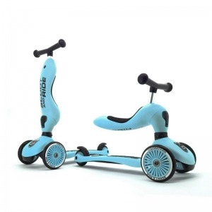 Patinete 2 en 1 Scoot And Ride Highwaykick One Blueberry