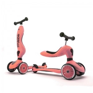 Patinete 2 en 1 Scoot And Ride Highwaykick One Peach